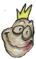 Glad lille frø