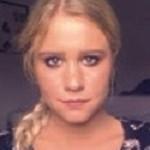 Rikke Matthiesen, studerende. Hannes yngste datter.