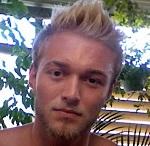 Søren Matthiesen er Hannes nevø. Han ser farlig ud - men det er han ikke!