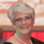 Anne Lise Schjeldal, selveste fru Dansk Auto Logik. Gift med Bent O. Jørgensen